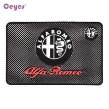 Car-Styling Car Sticker Emblems Mat Case For Alfa Romeo 159 147 156 Giulietta Sp 147 159 Mito Interior Accessories Car Styling(China)