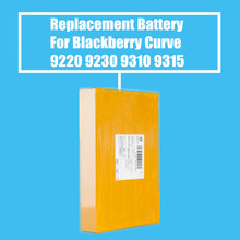10Pcs/Pack 1450mah Replacement Battery For Blackberry Curve 9220 9230 9310 9315 9320 High Quality(China)
