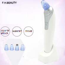 Electronic Facial Pore Cleaner Nose Blackhead Cleaner Acne Remover Utilizes Pore Vacuum Extraction Tool Comedo Suction Machine