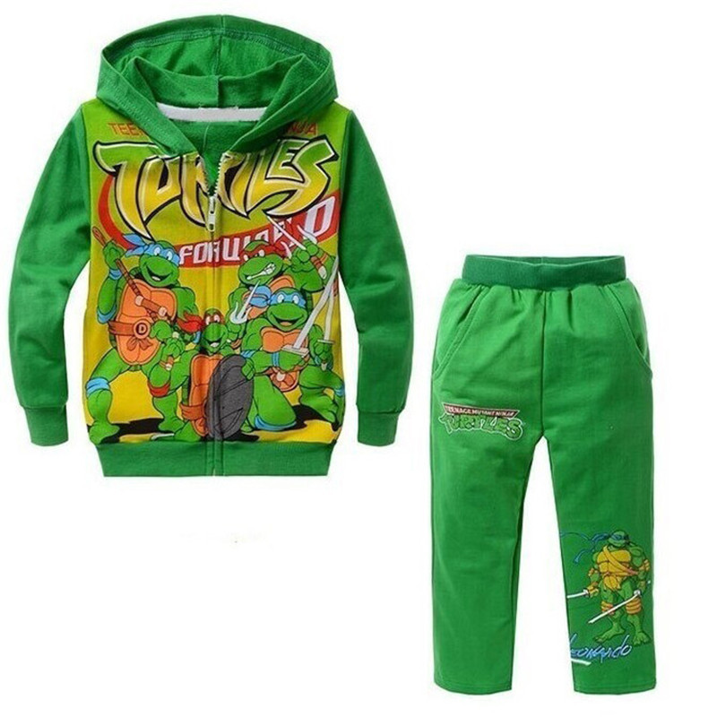 Retail Sale!Cartoon Suits In The Spring Of 2016 The Autumn Hot Boy Set Hoodie + Pants With The Boy Clothing Stes Exempt Postage(China (Mainland))