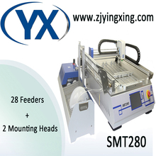 Automatic PCB Chip Mounting Led Production Machine SMT280/ Desktop SMT Pick and Place Machine/