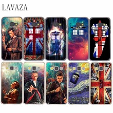 Doctor Who Union Jack Tardis Hard Case  for Samsung Galaxy A3 A5 A7 A8 J5 J7 Grand 2 J3 J5 Prime Note 2 3 4 5 2017 2016 2015