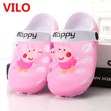 Summer Children Shoes Kids Boys Girls Sandals Children Slippers Sport Beach Sandals Slippers For Boys Girls Size 24-35 tx0353