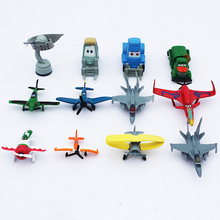 12pcs/lot Cartoon Movie Planes Figure Toys Mini Planes dust Cars Model Toys PVC Dolls Gift For Children Free Shipping