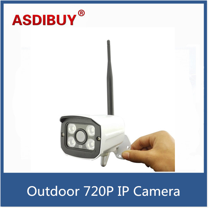 H.264 P2P HD 720P WIFI Wireless IP Camera Outdoor CCTV Network Onvif 4 IR Night Vision home warehouse security camera<br>