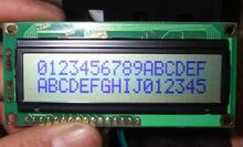 162 1602 16x2 LCD screen No backlight Character LCD module Position of the connection interface at the bottom of the screen(China)