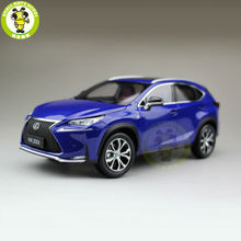 1/18 Toyota Lexus NX 200T NX200T Diecast Model Car Suv hobby collection Gifts Blue Color