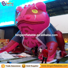 33ft (10m) high outdoor advertising giant inflatable cartoon/advertising inflatable frog animal model decoration inflatable toy