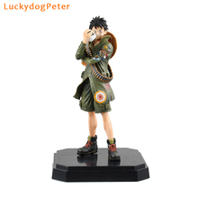 One Piece Luffy Action Figure 1/7 scale painted figure Military Style Monkey D Luffy Doll PVC ACGN figure Brinquedos Anime 21CM