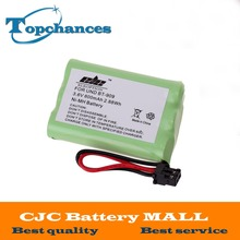 High Quality Rechargeable Cordless Home Phone Battery for Uniden BT-909 BT909 3*AAA Ni-MH 800mAh 3.6V Free Shipping