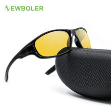 Buy NEWBOLER Polarized Cycling Eyewear Yellow Brown Colored Lenses Men Women UV400 Bicycle Bike Glasses Outdoor Sport Sunglasses for $5.69 in AliExpress store