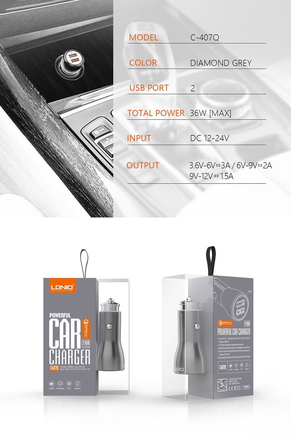 LDNIO Car charger (10)