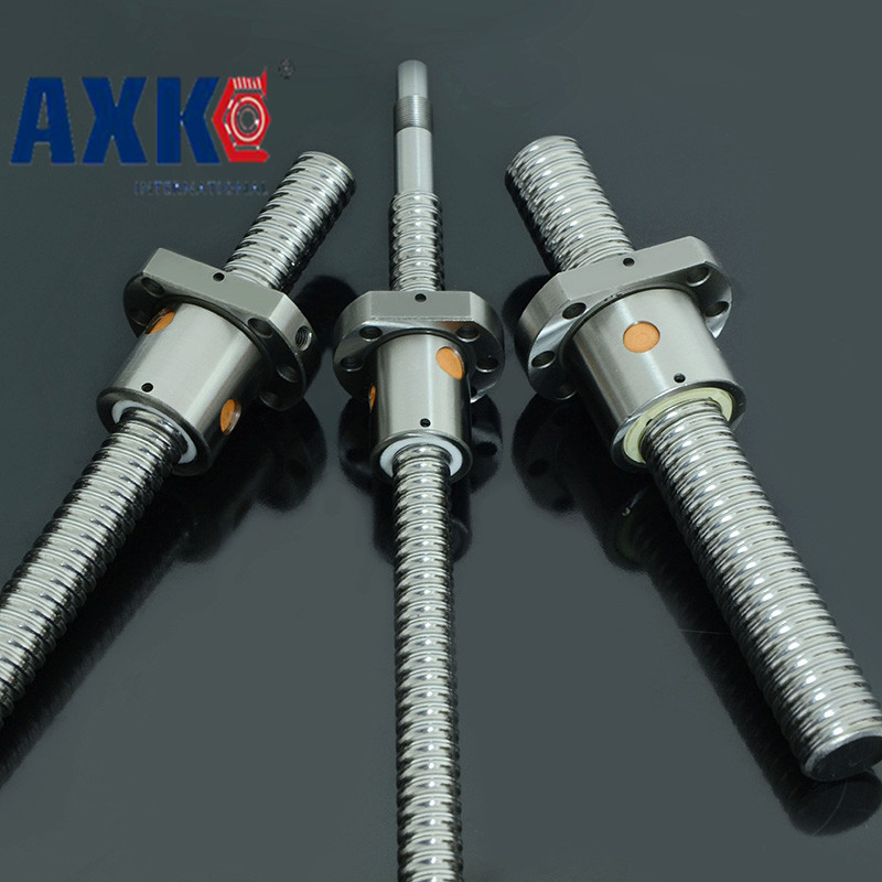 Zero Backlash Ball Screws 2005 -l 345mm + 1pcs Sfu2005 Single Ballnut / End Machining Is Optional For Cnc Linear Working Table<br>