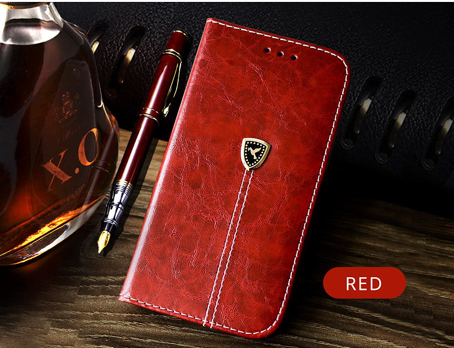 NKOBEE For iPhone X Wallet Case Luxury Case For iPhone X Case Leather Flip Book Cover For iPhone X Stand Case Coque Card Holder (7)