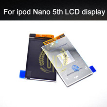 1 pcs Original free shipping brand new internal inner LCD display screen repair replacement for ipod nano 5th gen 8gb 16gb