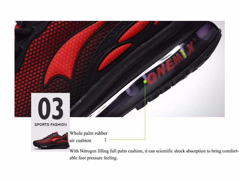 Original Quality onemix Air Jogging Shock Absorbers Sneaker For Men Track Chaussure Sport Breathable Running Shoes Free Trainers 9
