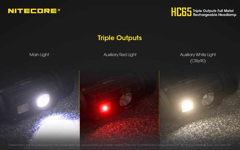Nitecore HC65 1000 Lumens Rechargeable Headlamp (9)