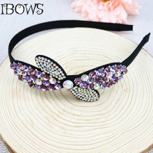 1Pc Classical Women Crystal Rhinestone Tiara Hair Band Headband Hair wear Accessories For Girl