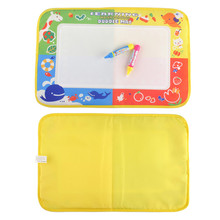 New Drawing Toys Water Drawing Mat 46 X 30cm Board Painting And Writing Doodle With Magic Pen Non-toxic Drawing Board For Kids