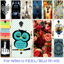 TAOYUNXI Silicon Phone Cases For WiKo U FEEL/BLU R1 HD 5.0 Inch Bag Cover Flexible Back Coque For WiKo U FEEL/BLU R1 HD Case(China)