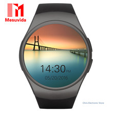 Mesuvida Original KW18 Bluetooth Smart Watch Full Screen Support SIM TF Card Smartwatch Phone Heart Rate for Apple S2 Huawei