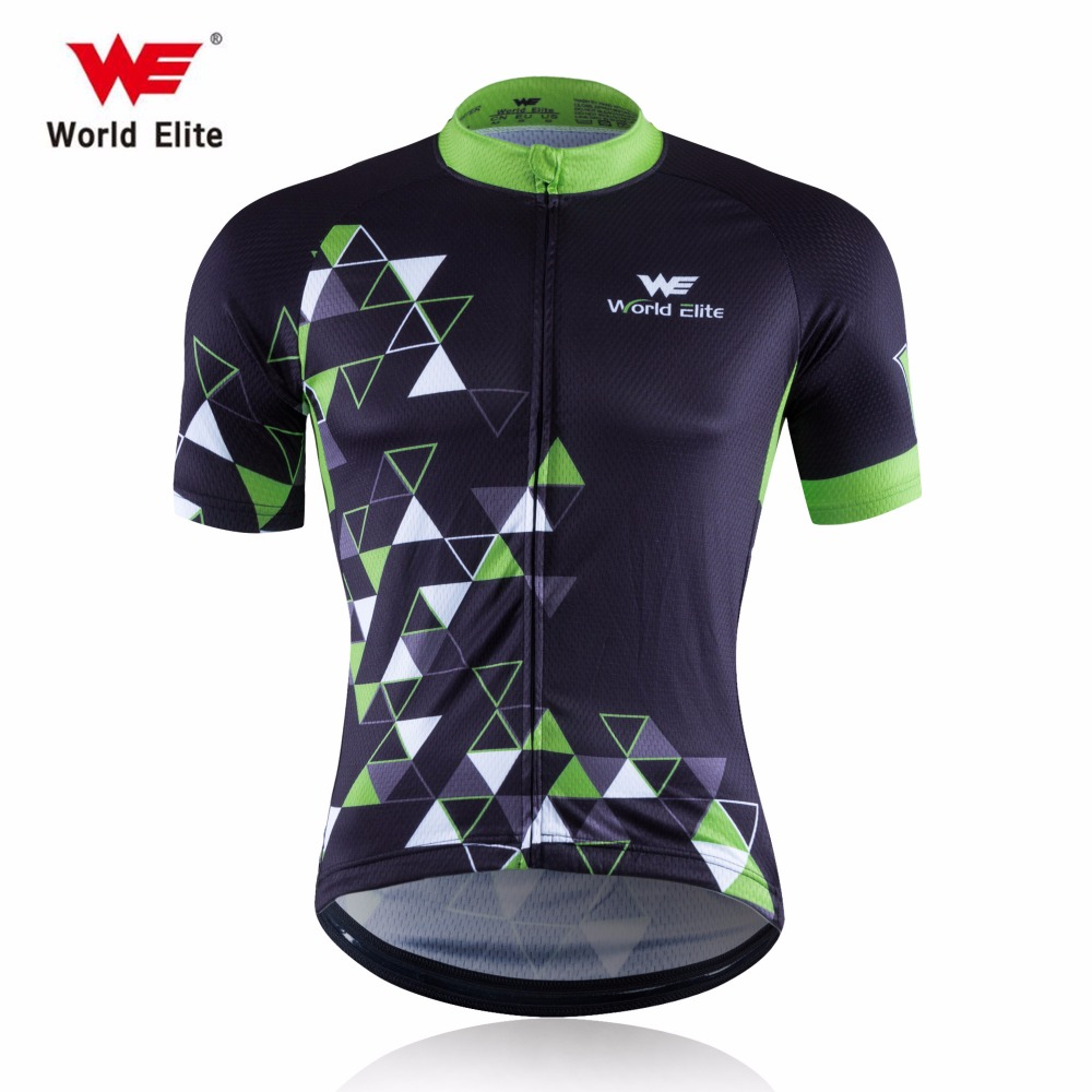 WORLD ELITE WE 2017 Cycling Jersey MTB bike Jersey cheap-clothes-china Short Male Maillot Cycling Clothing Men Pro Team(China (Mainland))
