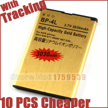 BP-4L BP 4L BP4L Mobile Phone Battery Batteries for NOKIA E61i E63 E90 E95 E71 6650F N97 N810 E72 Free Shipping