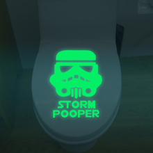 Hot sale Star Wars Luminous Art Mural toilet sticker wall stickers home decor living room mirror wall stickers for kids rooms