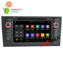 JSTMAX Android 5.1 Quad Core CAR DVD PLAYER for AUDI A6 AUDI S6 AUDI RS6 1997-2004 GPS+1024X600+DVR/WIFI/3G+DSP+RDS+16GB flash