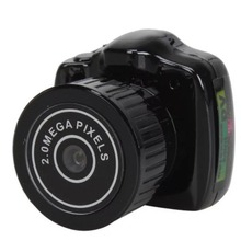 Y2000 Mini Portable Camera CMOS 2.0 Mega Pixel Pocket Video Audio Digital Mini Camcorder 640*480 480P DV DVR 720P(China)