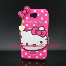 For Huawei Honor Bee Y5 Case Hot 3D Silicon Hello Kitty Design Soft Silicon Phone Back Case for Huawei Honor Bee Y5/Y5C/Y541
