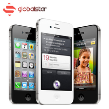 Unlocked Original iPhone 4S Smartphone Dual Core 16GB IOS Mobile Phone 8.0 MP camera 3.5 Inch WIFI GPS Apple Cell Phone