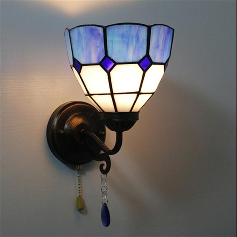 Tiffany wall lamp, Baroque wall lamp ,16cm multi color wall mounted tiffany light for reading room,balcony,corridor TEN-W-010<br>