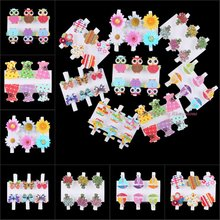 6pcs Wood Clips Clothespin Office Paper Photo Clothes Peg Craft Pin Clips DIY Owl Flower Sail Boat Buttefly Party Decoration