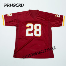 Retro star #28 Darrell Green Embroidered Throwback Football Jersey(China)
