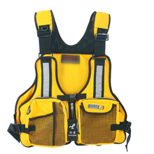 Factory wholesale adult lifejackets lures many pockets models can be adjusted a variety of colors can be customized(China)