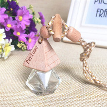 8~10ml Mini Portable Travel Refillable Perfume Atomizer Bottle Scent Pump Case Empty perfume bottle airless pump Perfume Bottles(China)