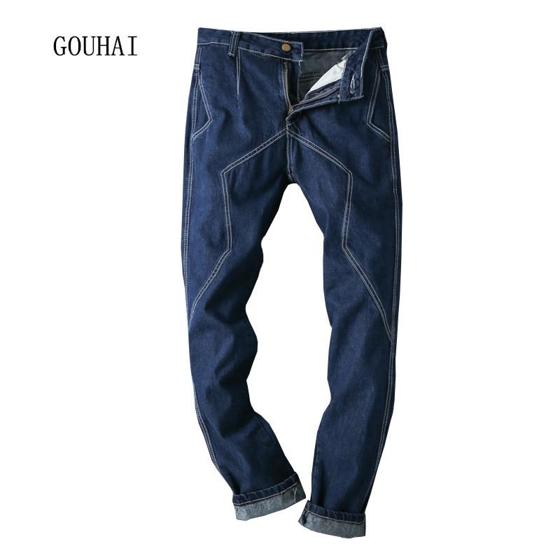 Men Jeans 2017 New Spring Autumn Mens Denim Jean Long Cowboy Pant Plus Size 29-40 42 44 Fashion Male Denim Trousers High QualityОдежда и ак�е��уары<br><br><br>Aliexpress