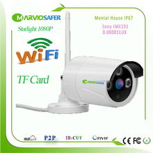 Buy 2MP 1080P Starlight CCTV Wi-fi Network PTZ IP Camera Wireless Onvif Sony IMX291 Sensor Colorful Night Vision TF Card Slot for $56.85 in AliExpress store
