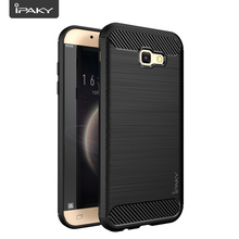 IPAKY Case Bumper Shockproof Silicone Cover On For Samsung Galaxy A A3 A5 A7 3 5 7 2017 2/3 GB 16/32/64 GB A320 A520 A720(China)
