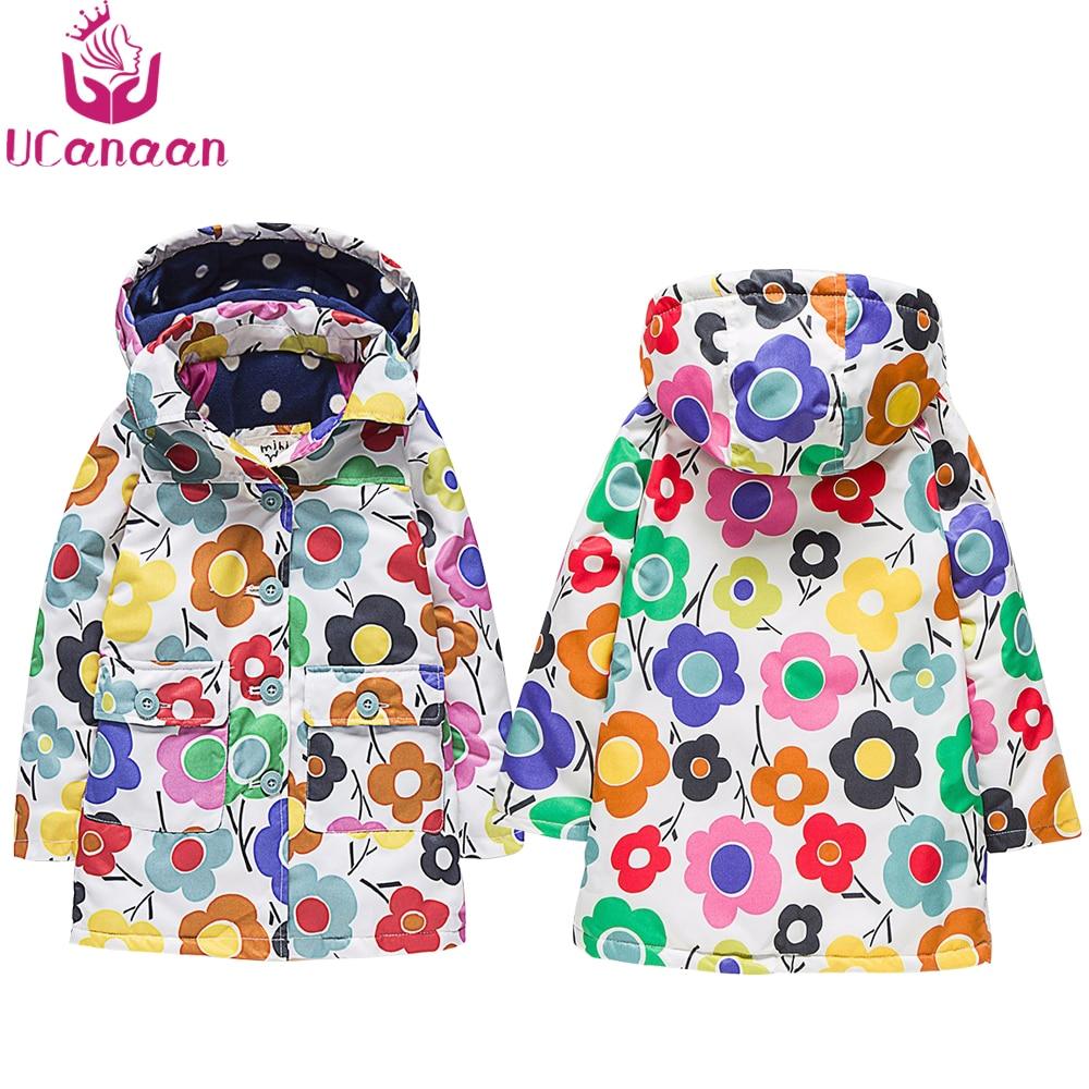 Free Shipping 2016 New Autumn or Winter (2-6)Years old Children Girls Long Jackets and Kids Wind and WarmThicken Outerwear CoatÎäåæäà è àêñåññóàðû<br><br>