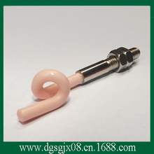 textile ceramics  pigtail    ceramic wire guide part
