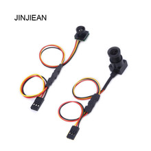 JINJIEAN New Super Mini 700TVL 2.8mm NTSC Format FPV Camera for RC QAV250 FPV Aerial Photography 2PCS(China)