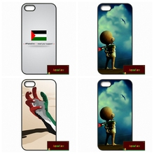 Palestinian Palestine National Flag Phone Cases Cover For iPhone 4 4S 5 5S 5C SE 6 6S 7 Plus 4.7 5.5   #HE0439