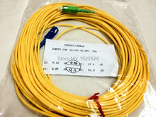 Free Shipping 9/125 3mm 20M SM Simplex SC-SC Fiber Optic Jumper Cable SC/APC-SC/UPC Fiber Optic Patch Cord(China)