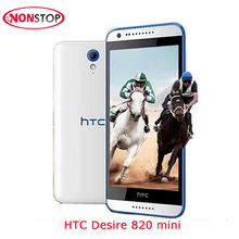Unlocked HTC Desire 820 Mini Cellphone Dual SIM 5.0 Inch Quad Core 8MP GPS WIFI 3G Original HTC Desire 820 Mini Mobile Phone(China)
