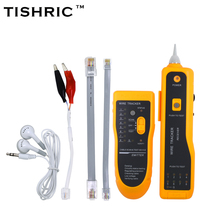 TISHRIC JW-360 LAN Network Cable Tester Cat5 Cat6 RJ45 UTP STP Line Finder Telephone Wire Tracker Tracer Diagnose Tone Tool Kit(China)
