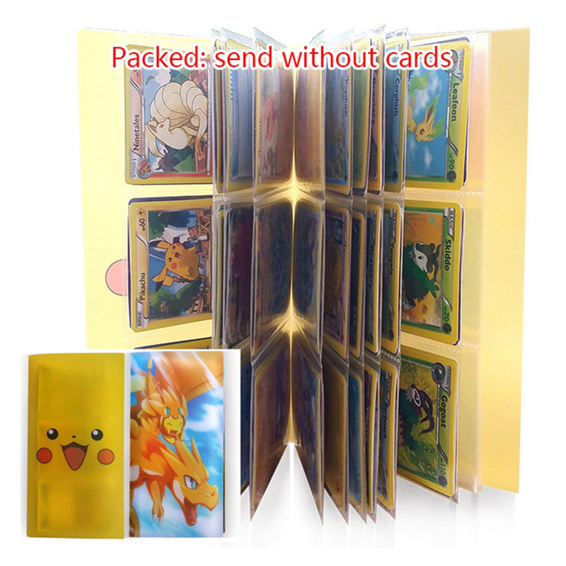 2017 New Arrivals Pikachu Collection Poke Cards Book Loaded Album Box List Trading Card Game Holder Pop Pokeball Toys Gift<br><br>Aliexpress