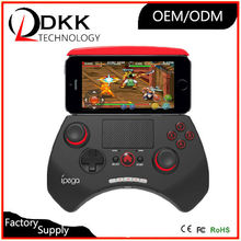 Free Shipping Ipega 9028 wireless bluetooth unique game controller with touchpad support android/ios/android tv