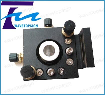 four-dimensional adjustment territory rack  adjustment Frame  Red Frame mirror holder for yag fiber laser machien machine<br><br>Aliexpress